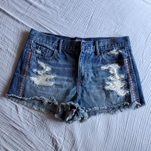Hollister jean short